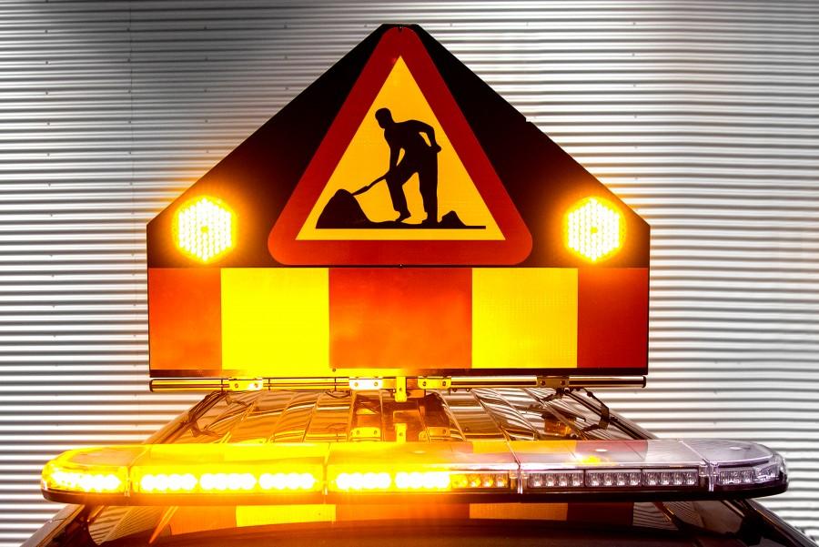 Feux flash ou avertissement lumineux pour une meilleure visibilité
